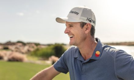 Justin Rose nutzt Social Media-Plattform All Square