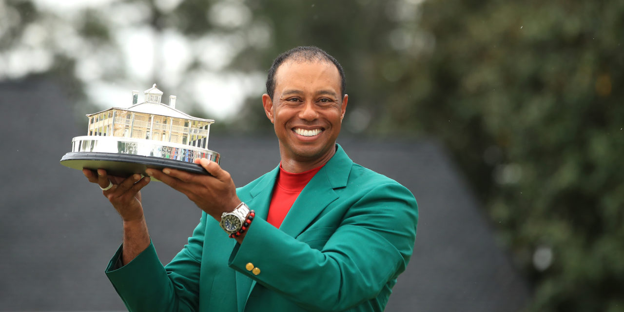 Tiger Woods holt fünftes Green Jacket beim MASTERS in Augusta