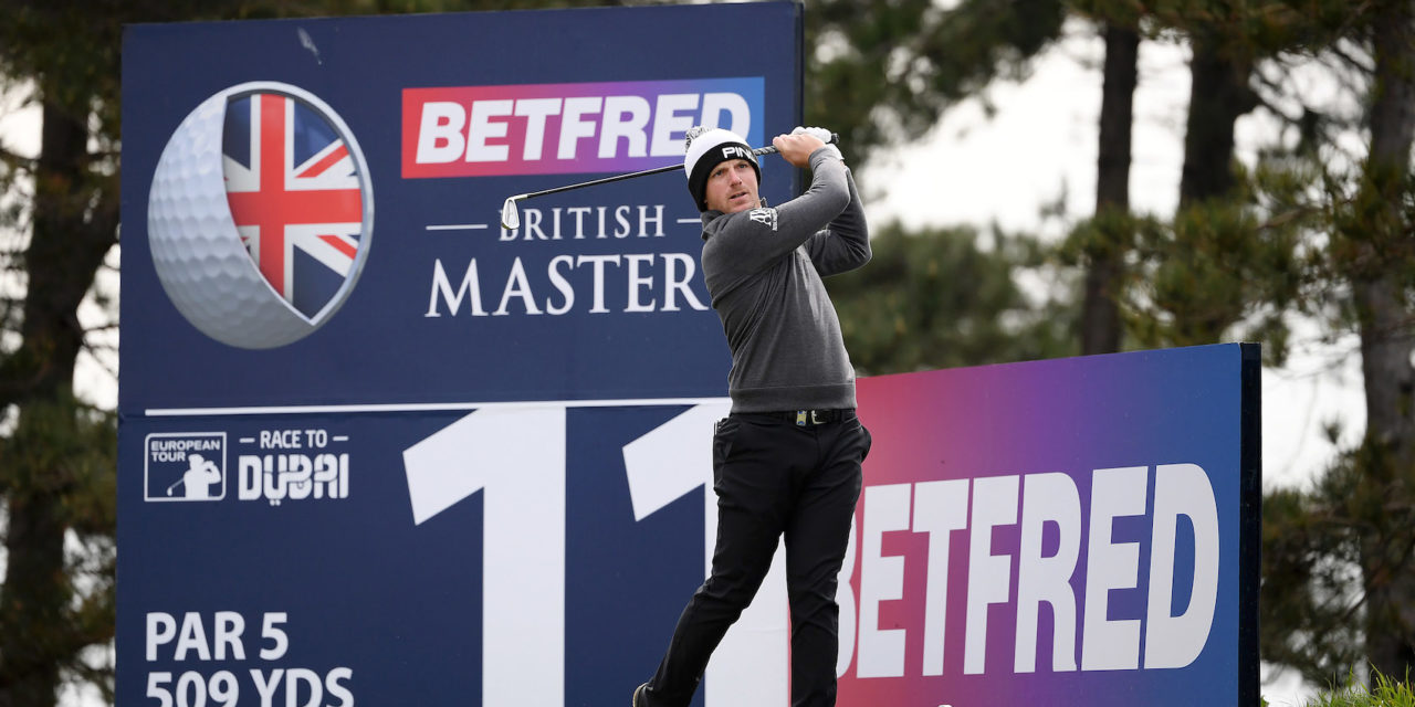 Wallace in Front beim Betfred British Masters in Southport