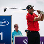 WINSTONgolf Senior Open: Olazábal mit Hole-in-One an die Spitze, Langer Dritter